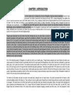 Bangalore Case Study-I