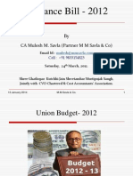 Finance Bill 2012-13.ppt