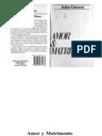 John Osteen - Amor Y Matrimonio