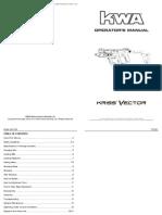 Kriss Vector Operator's Manual