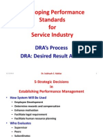 Developing Performance Standards-DRA