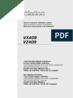 Clarion VX409 Manual