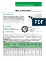 Single Core Cables to IEC 60502