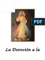 Libro Devocion a La Divina Misericordia