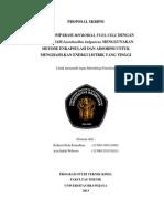 Revisi I Proposal Skripsi