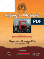 Rassegna Musicale 2014