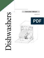 Damani Dishwasher DAD6005 Manual