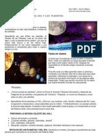 El Sol y Los Planetes Guia 5to - JJ