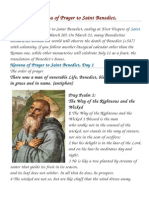BOOK Novena of Prayer to Saint Benedict