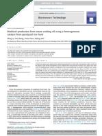 Catalizatori eterogeni pentru productia de biodiesel