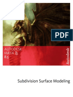 Subdivision Surface Modeling