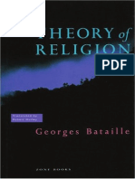 Bataille, Georges - Theory of Religion (1973, 1989) (Hazy)