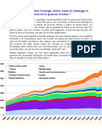 Etude Economie Energie - JM Jancovici