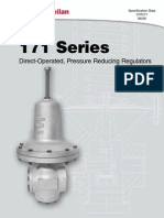 Masoneilan - 171 Series Regulator Spec Data