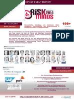 Post Event Report der Corporate Risk Minds 2013 Konferenz in Berlin