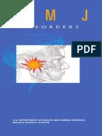 Tmj disorders National Institute