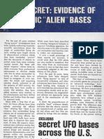 Secret UFO Bases Across the U.S. by John A. Keel