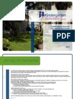 Carta dei Servizi scuola Kindergarten