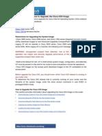 1-14 How to Upgrade the Cisco IOS Image