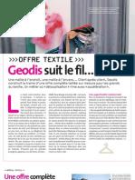 Livraison Par Geodis Secteur Textile