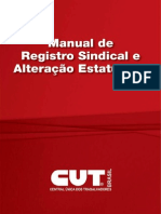 Manual de Registro Sindical e Alteracao Estatuaria(1)