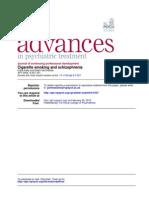jurnal efek merokok pada pasien skizofrenia