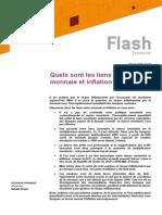 Natixis - Liens Entre Monnaie Et Inflation