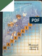 Cls 1 Manual Matematica 1988