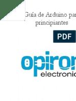 Guia de Arduino Para Principiantes Proyectos y Tutoriales