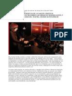 Casa Del Teatro, Palabras de la Presidenta Cristina Fernández