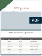 PHP Operators