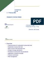 Pnumatic Test