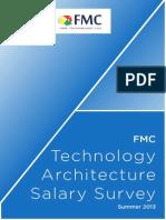FMC Technology Architecture Salary Survey