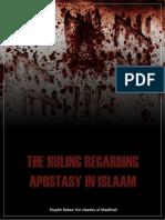 The ruling regarding Apostasy in Islam
