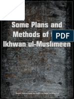 Some Plans and Methods of the Ikhwan Ul-Muslimeen