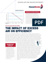 Excess Air and Boiler Efficiency
