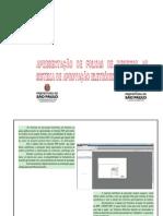 Apresentação de folhas de desenho ao Sistema de Aprovação Eletrônica de Projetos