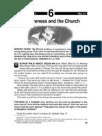 Forgiveness and the Church 3-9 May 2003