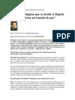 Entrevista Al Escritor Colombiano Hernando Calvo Ospina