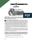 Loyalties 17-23 May 2003
