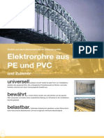 02 Elektrorohre Pvc Pe