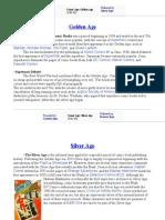 DC Timelines & Info