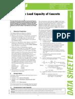 Masonary Load Bearing Capacity