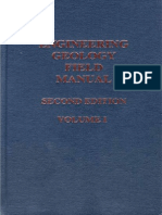 Engineering Geology Field Manual Volume I