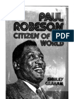 (1946) Paul Robeson Citizen of the World
