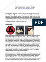 List of Mangekyou Sharingan in Naruto World