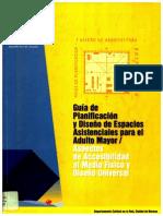 Guia de Planificación y Diseño de Espacios Asistenciales para el Adulto Mayor