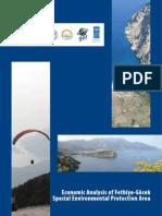 Economic Analysis of Fethiye Gocek Special Environmental Protection Area