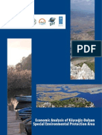 Economic Analysis of Koycegiz-Dalyan Special Environmental Protection Area