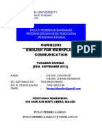 Oumh2203smp_740119035790_english for Workplace Communication